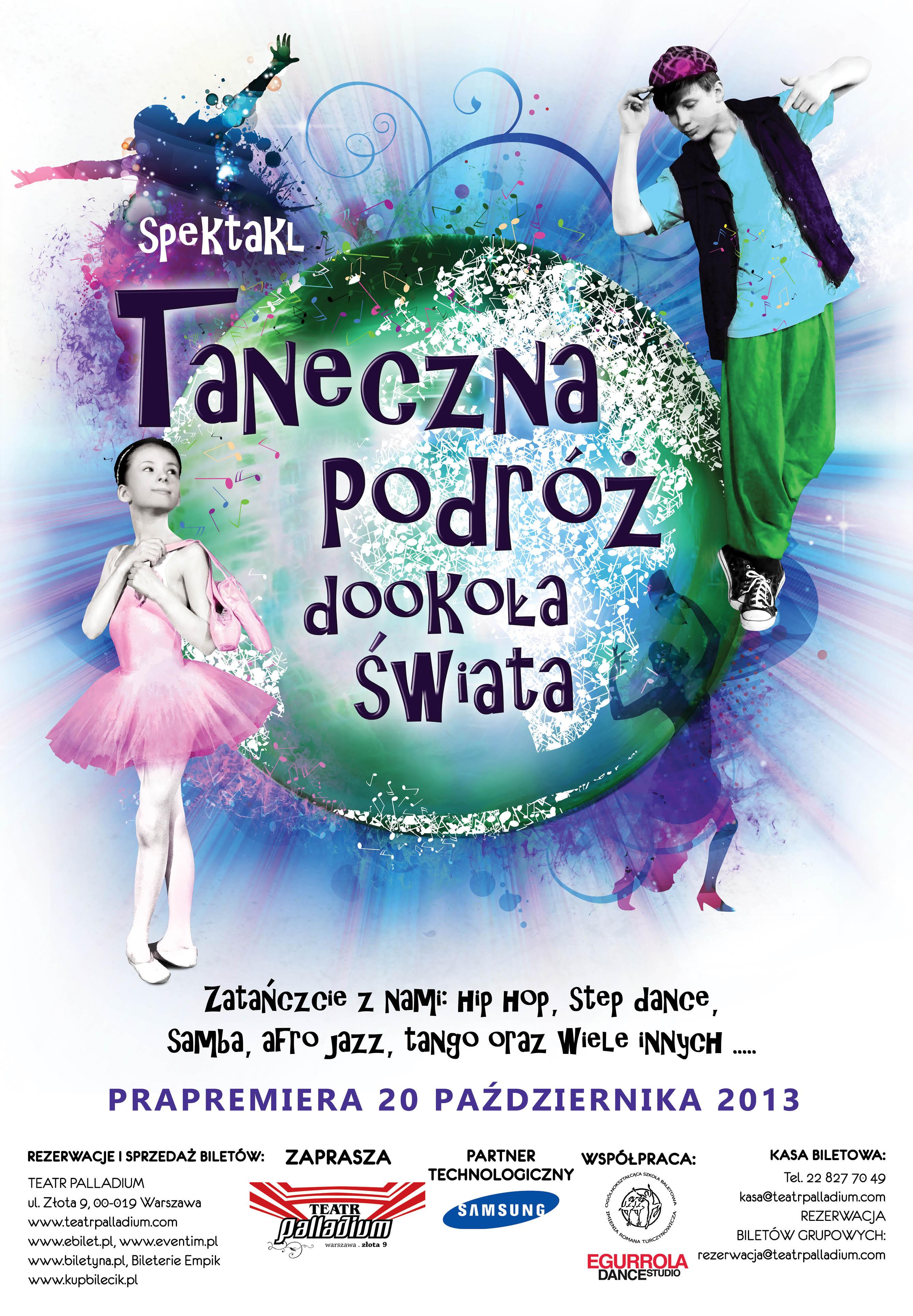 plakat_taneczna_podróż_dookoła_świata