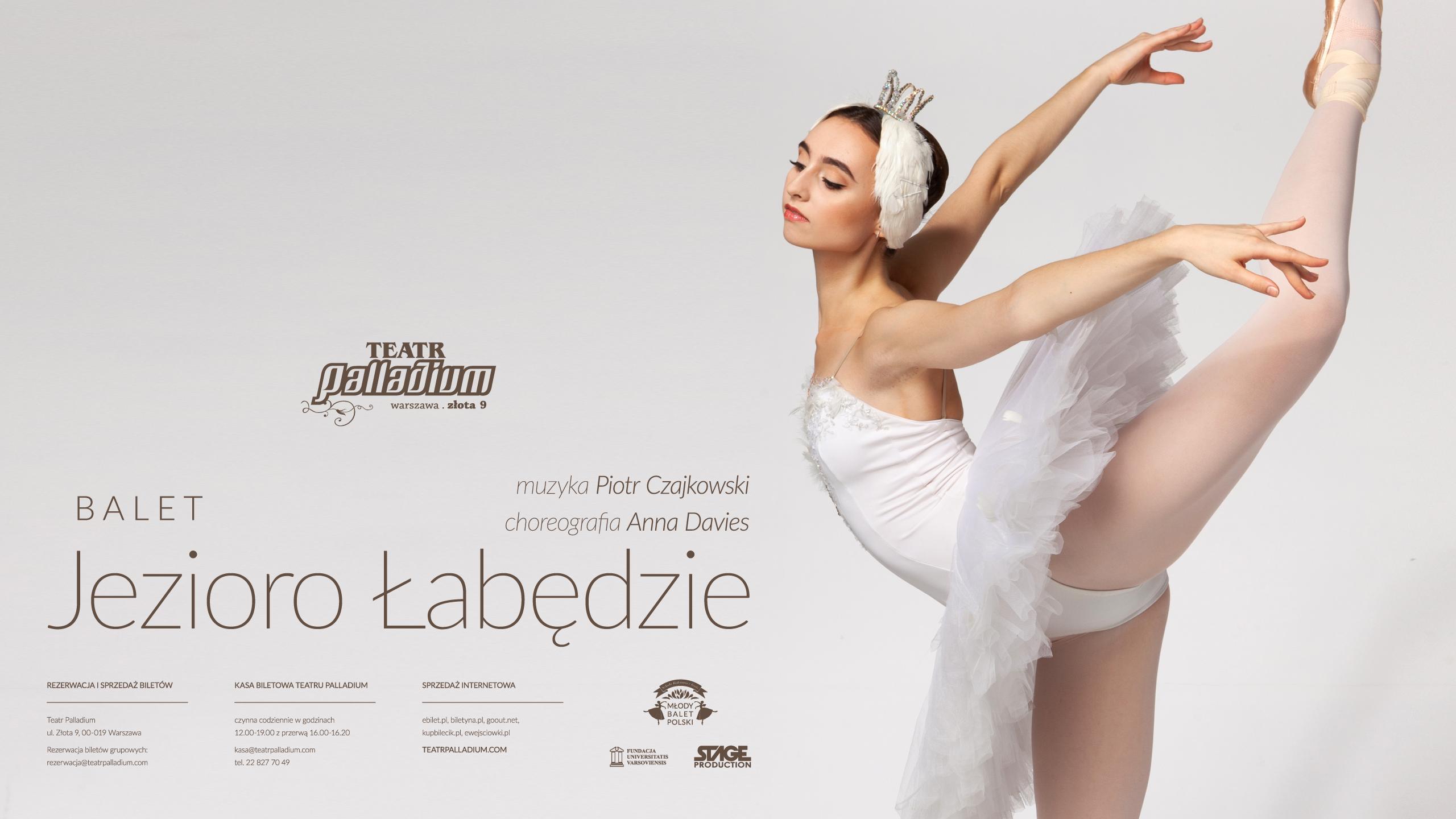 najnowszy 2018 buty podgląd Balet JEZIORO ŁABĘDZIE - Teatr Palladium